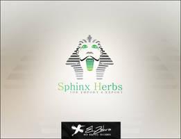Sphinx Herbs Logo Design by ahmedelzahra