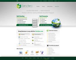 Cairo Serv website Design OP2 by ahmedelzahra