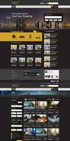 Omega Real State web Design