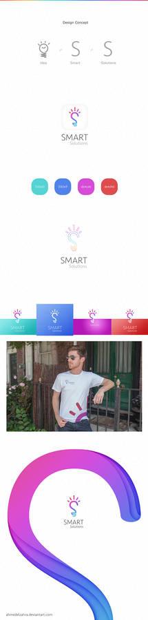 Creative Logo design for smart solutions