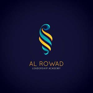Rowad Leadership luxury logo design