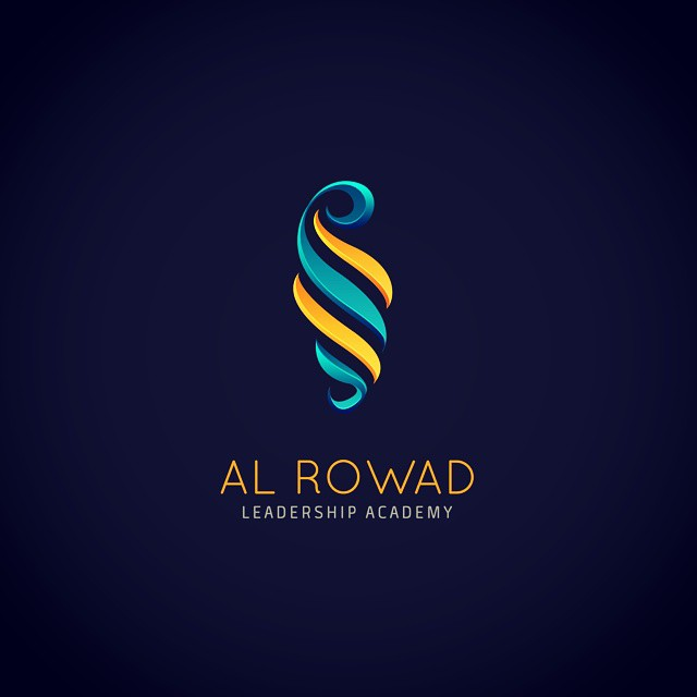 rowad leadership luxury logo design by ahmedelzahra on deviantart