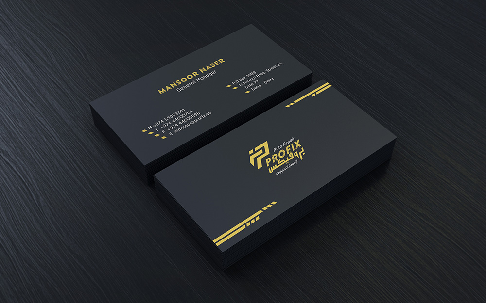 Auto repair logo design and business card by ahmedelzahra on