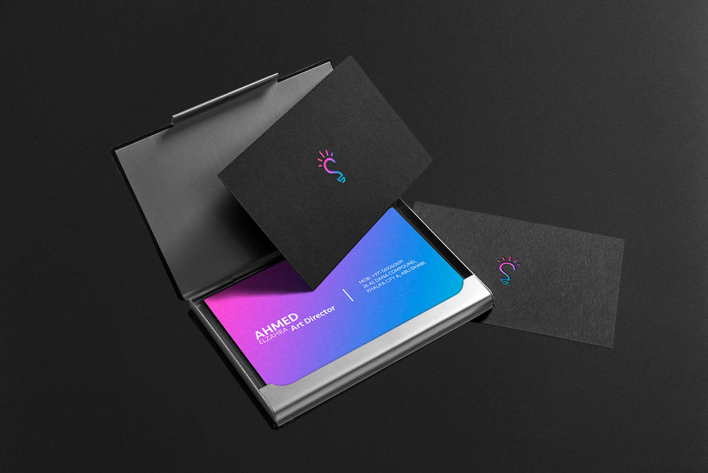 creative business card design by ahmedelzahra - Creative Business Cards