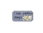 I hate pointless stamps