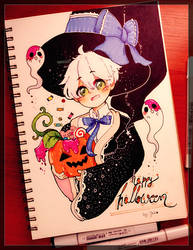 Happy Halloween! by KyusagiChan