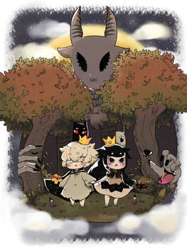 The Liar Princess and The Blind Prince - fanart