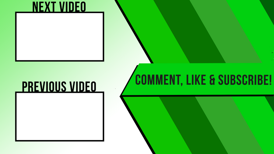 Just an outro design by defiantartz on deviantart for Outro image