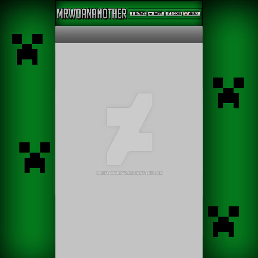 MrWonanother YouTube Background! by DefiantArtz