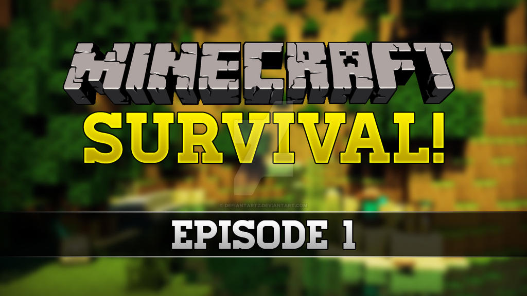 Minecraft Survival Thumbnail Dubbean By Defiantartz On Deviantart