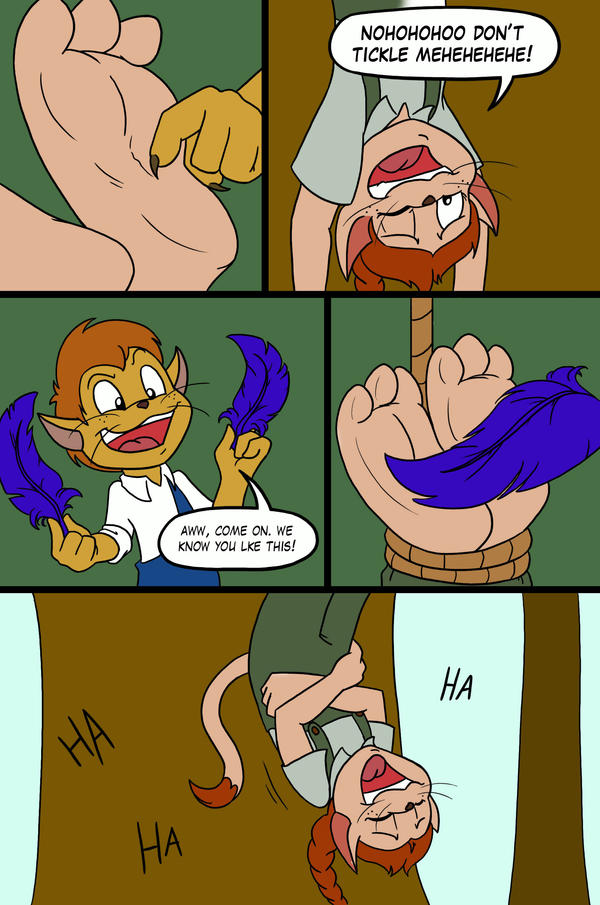 tickle trap page 2 by Phuram