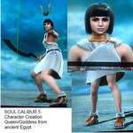 SC6 character: ancient queen/goddess by Phuram