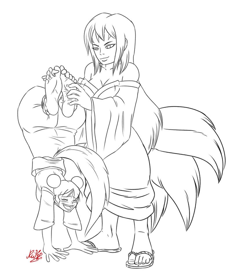 Mai Lin and the chief by Phuram