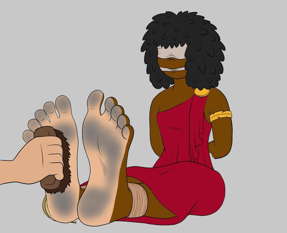 Nubia Tickling C by Phuram