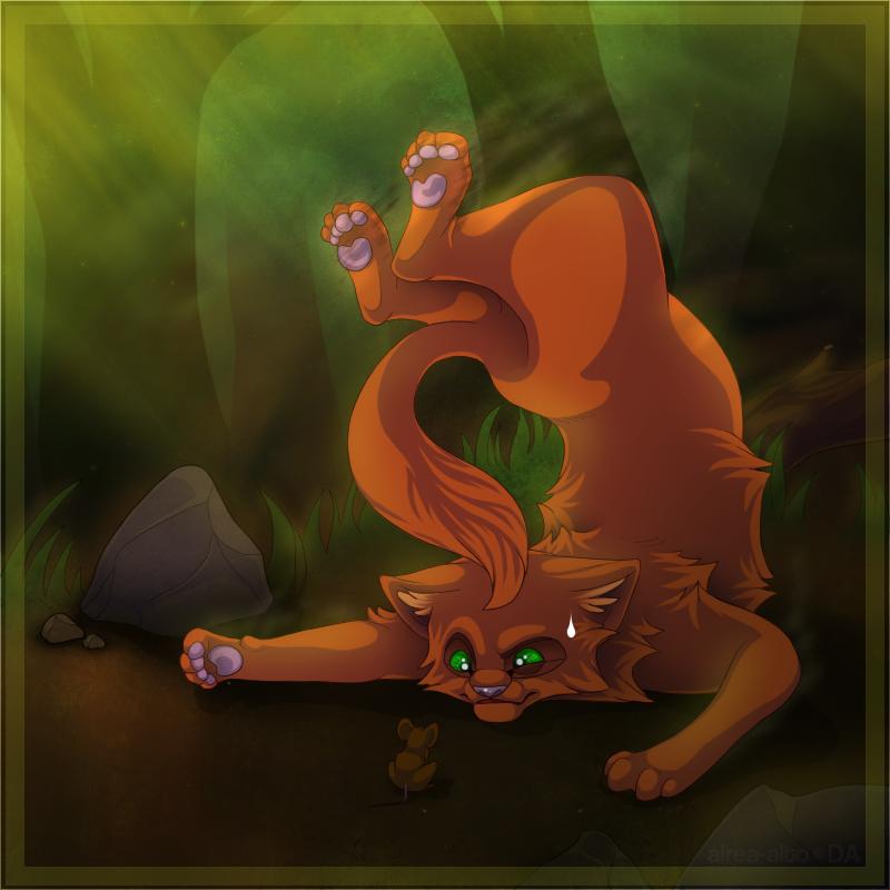 Warriors Erin Hunter Squirrelflight: Squirrelflight By Airea-alto On DeviantArt
