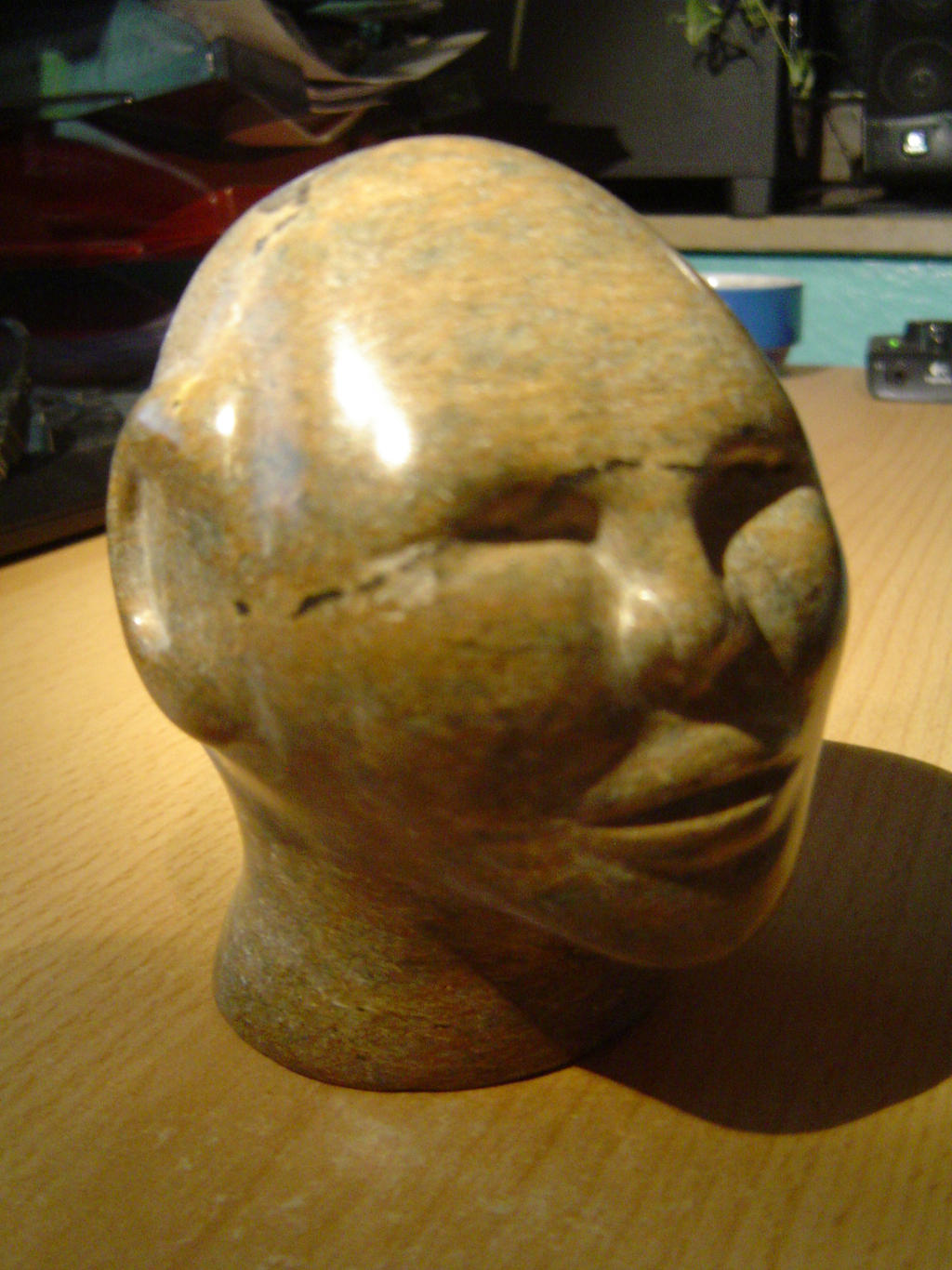Head Made Of Soapstone By Pencilbrushnpapers On Deviantart