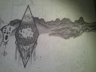 Sketchbook Excert 3 by PencilBrushNPapers