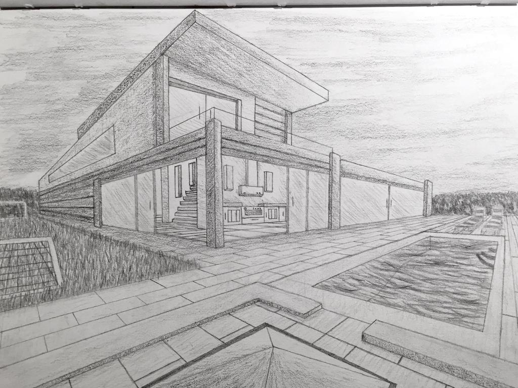 Modern House By Emerson Vzn On Deviantart