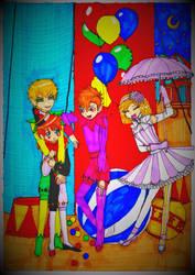 Neverland Duo, Circus primadonna  Little Clown by DorianGeisterhugel