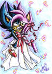 Dark Sonic and Amy