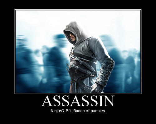 Assassin S Creed Vs Ninja By Ady18 On Deviantart