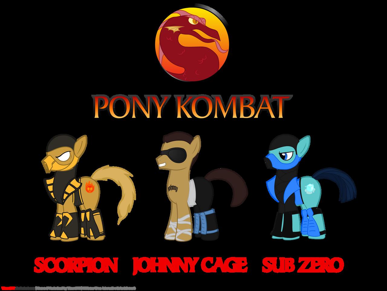 Pony Kombat By Timon1771 On Deviantart