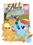 Fall Weather Friends Poster
