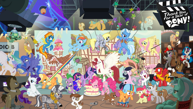 Thank You Poster for Studio B / DHX