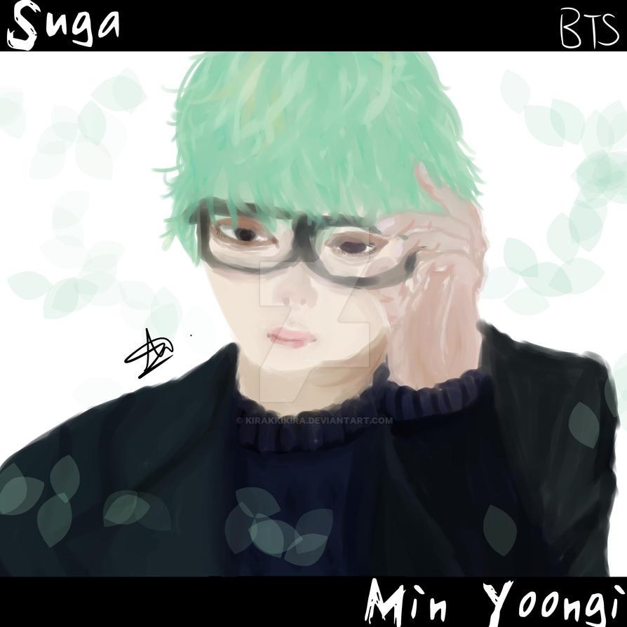 BTS Min YoongiSugaAgust D By KirakkiKira