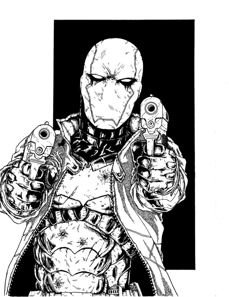 Red Hood Commission by Escape-to-darkness