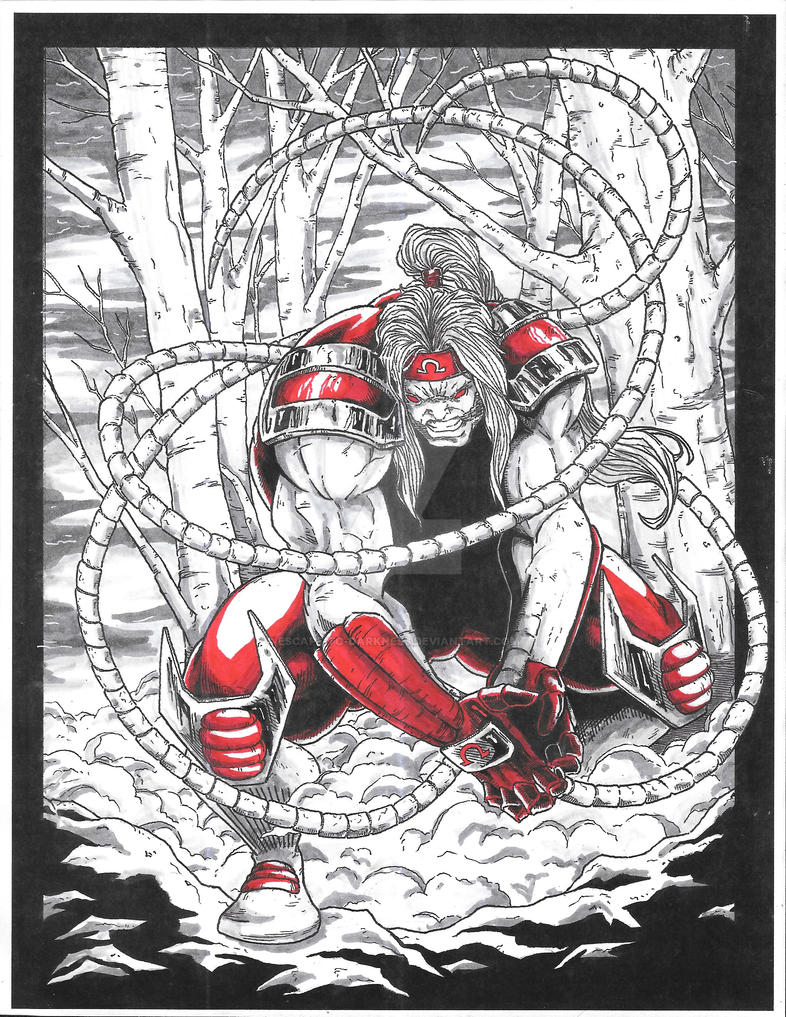 Omega Red by Escape-to-darkness