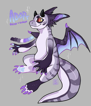 gecko x dragon open adoptable