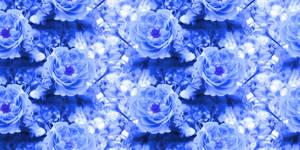 Blue Rose Tile