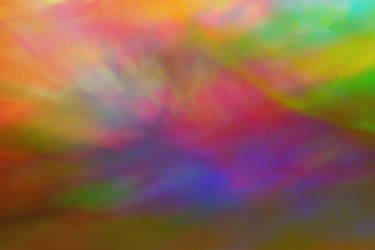 Bright Multicolored Abstract by emilymh2018