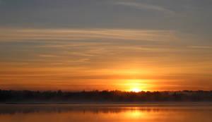 Sunrise on a Minnesota Lake IV