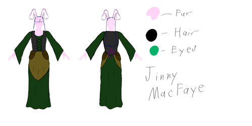 Jinny MacFaye Clothing Design by kajukenbo1