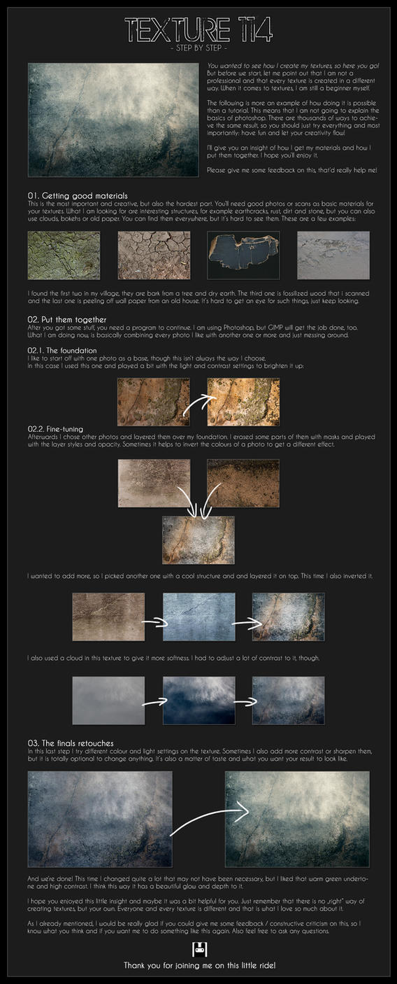 Texture 114 - Step by Step by NinjaRabbit-Stock