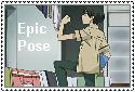 Epic Pose Stamp by ThespianOwl