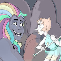 Bismuth And Pearl by Mayraduet