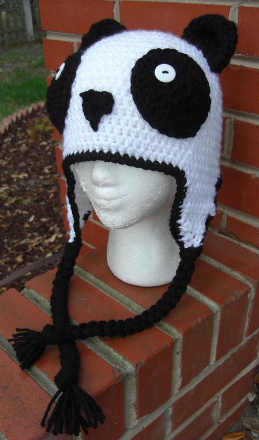 Crochet Pattern Panda Hat : Crochet Panda hat by TheCrochetDragon on DeviantArt