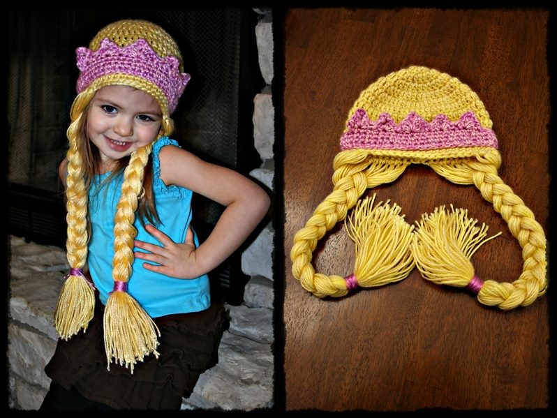 Rapunzel Hat by TheCrochetDragon on DeviantArt