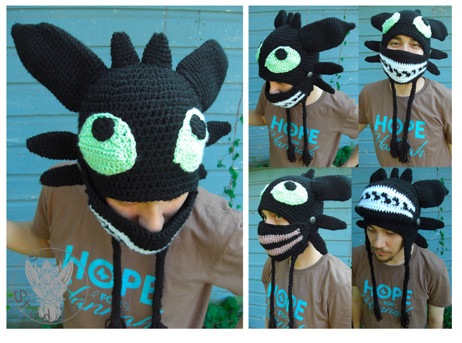 Toothless Mask By Thecrochetdragon On Deviantart