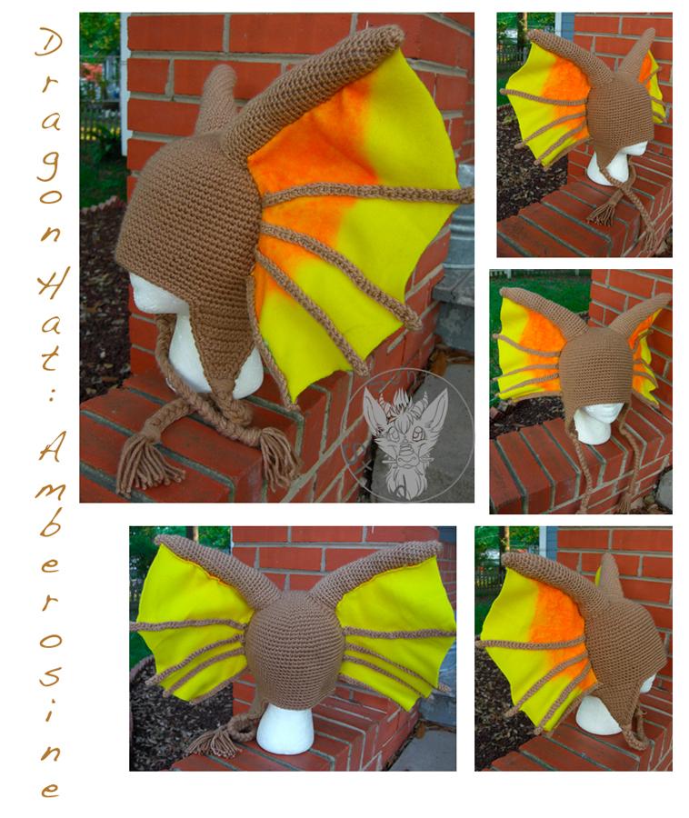 Amberosine Hat by TheCrochetDragon