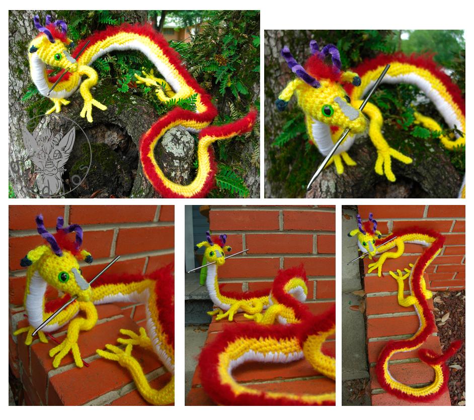The Crochet Dragon by TheCrochetDragon