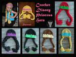 Crochet Princess Hats