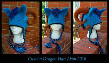 Akon Dragon Hat
