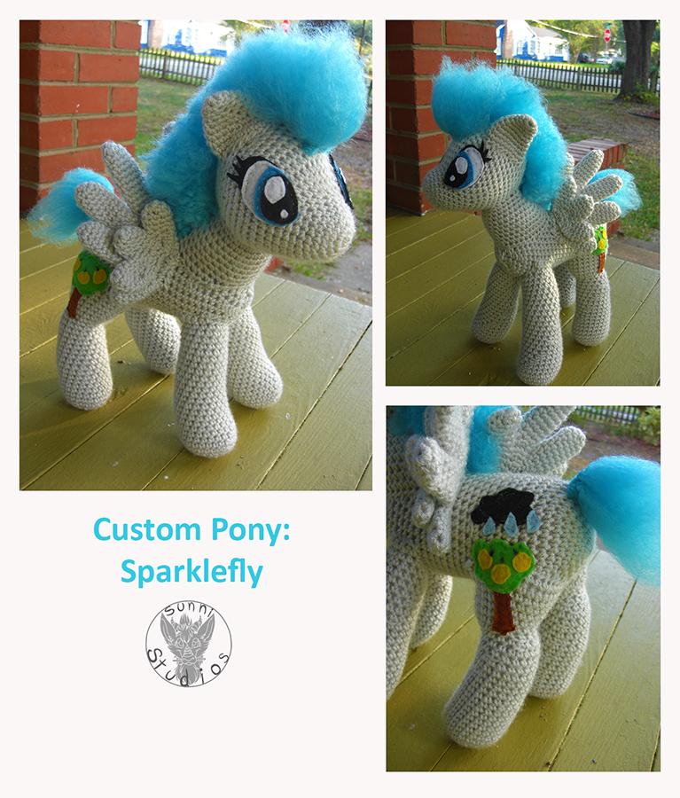Sparklefly by TheCrochetDragon