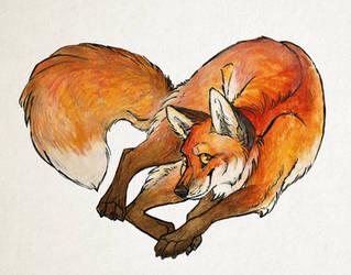 Fox Hearted by AilurusMursus