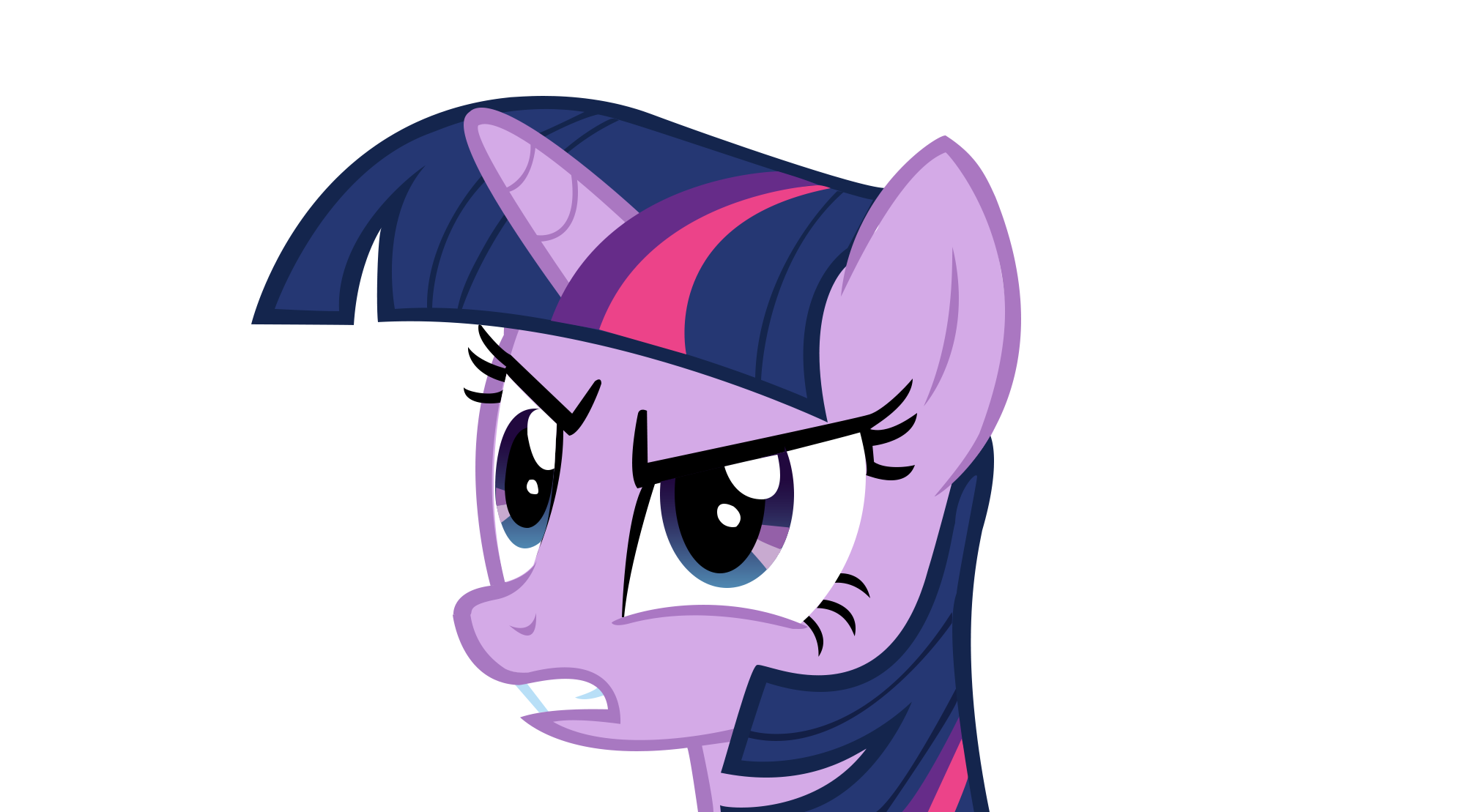 Angry Twilight Sparkle by TardisBrony