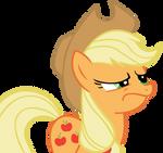 Applejack Smirk Vector